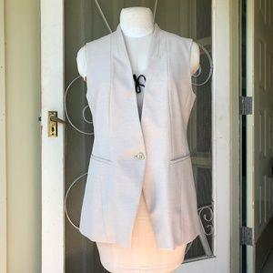 White House | Black Market Long Line Vest